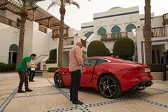 Jaguar F-TYPE Coupe | Media reveal Dubai | November 2013 (jaguarmena) Tags: red dubai uae jaguar coup sportscar launchevent localmedia redsportscar jaguarftype unitedarabemirated jaguarmena ftypecoup jaguarftypecoup ftyper