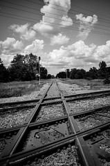 Whoops, yeah, if I retouch the pics in Lightroom... (johnfromtheradio) Tags: railroad up illinois crossing tracks diamond bnsf earlville