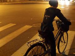 PA248683-Edit.jpg (Presence Inc) Tags: china light people bike night shanghai graphic streetphotography angles em5 filmmood