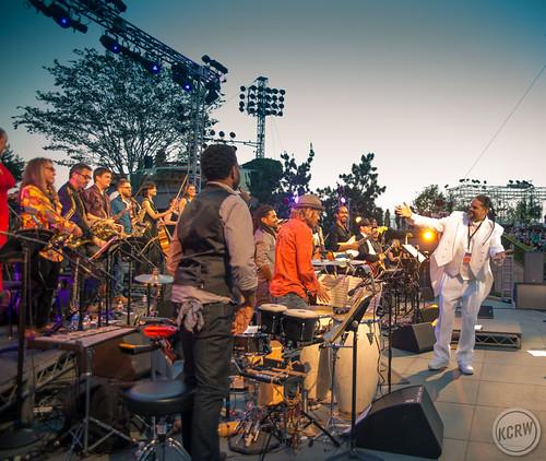 KCRW Presents Summer Nights: daKah Hip Hop Orchestra at Grand Performances, June 28th, 2014