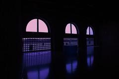 Venice (bumblebee66) Tags: blue museum fenster venedig dunkel spiegelungen