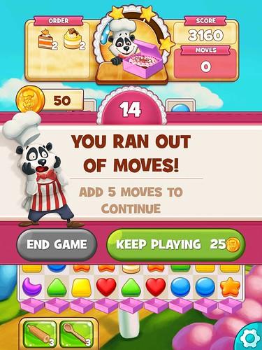 Cookie Jam Save Me!: screenshots, UI