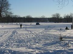 Crappie Bay Ice Fishing Al Tweddle 2013