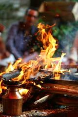 Fire (signinra) Tags: fire religion heat hindu agni yagya flickrandroidapp:filter=none