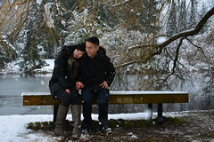 Van Dusan garden, Vancouver BC (PukDatShet) Tags: winter engagement engaged vancouverbc vandusengarden explorebc pdsphotography vancitybuzz viawesome pdsfamily
