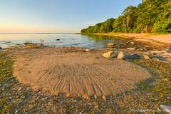 Lake Michigan ... sand deposit (Ken Scott) Tags: summer usa sand waterfront michigan august lakemichigan greatlakes hdr freshwater 2014 grandtraversebay leelanau 45thparallel e2e kenscott arthike etoe leg16 equinoxtoequinox kayekrapohl kenscottphotography kenscottphotographycom