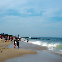 Jersey Shore (nosha) Tags: ocean blue sea usa beautiful beauty newjersey sand nj shore jerseyshore oceangrove nosha