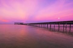 Full moon sunset at Koh Rong Samloem (Ton Ten) Tags: sunset colors landscape fullmoon purpel combodia fujifim tonten xt1 kohrong samloem touit12 toanquach