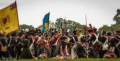 Napoleonic_-15 (Andy Darby) Tags: french battle flags muskets wars cavalry redcoats napoleonic spetchleypark