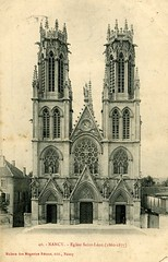 Nancy - Eglise St Lon (hugom_08) Tags: france nancy lorraine glise cartepostale stlon
