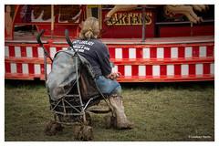 Mud at The Great Dorset Steam Fair 2014. (Lindsey_H) Tags: muddyboots gdsf muddyfestival cartersfunfair greatdorsetsteamfair2014 muddypushchair