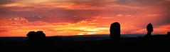 Arches Sunset August 2014-7861 (houstonryan) Tags: park sunset sky sun art rock print photography utah photo arch photographer ryan stock houston sunsets arches national photograph setting balanced houstonryan