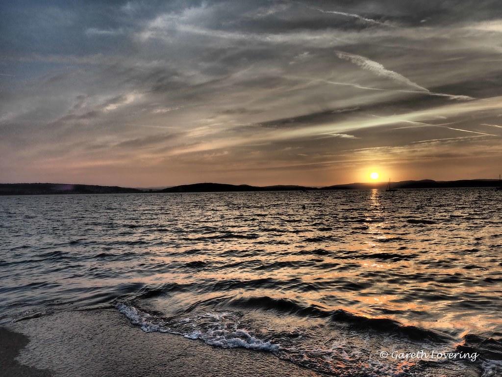 Sunrise over Swansea Bay 26th July 2014 (3)
