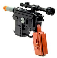 Electronic LEGO DL-44 Blaster Pistol (Baron Julius von Brunk) Tags: star starwars lego space led solo pistol laser guns wars electronic fandom han geeky blaster hansolo dl44 greedo arduino brunk