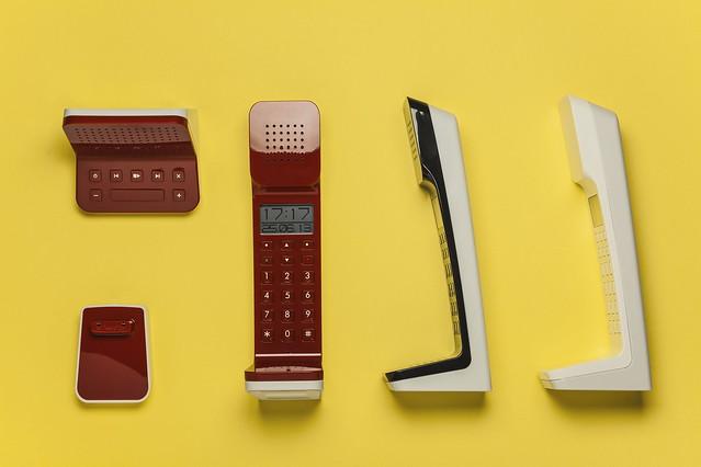 L7無線電話共有白、黑及紅色三款供選擇