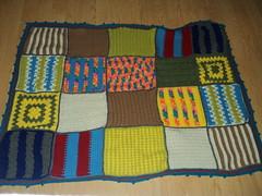 Lori Tiffner (The Crochet Crowd) Tags: mikey yarn blanket afghan cathy redheart challenge throw supersaver crochetsquares crochetchallenge thecrochetcrowd michaelsellick freeafghanpattern freecrochetvideos stitchcation