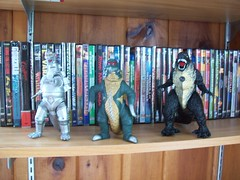 Godzilla figures (gigan72ofTohoKingdom) Tags: new toy style off godzilla 1975 novel 1972 1973 bootleg knock showa mg2 2014 mechagodzilla gigan