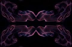 Week 36 ~ Smoke. (Yvette-) Tags: nikon purple smoke lowkey d5100