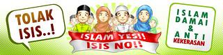 Spanduk Tolak ISIS