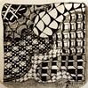 Zentangle/ Doodling (onenonly782) Tags: art tile tangle micronpen zentangle 8bgraphite