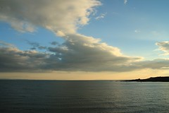 2014 - 7.9.14 - Anstruther (87) (marie137) Tags: sunset sky lighthouse beach windmill birds animals st clouds landscape town sand harbour fife route coastal land fields coastline largo anstruther elie monans cuntryside marie137