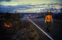 highway reclaimed by lava (paddy_bb) Tags: travel usa fire volcano hawaii lava highway unitedstates ngc 1993 bigisland paddybb