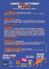 BOXON LOCAL TOUR II
