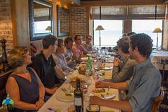 Déjeuner avec Nicolas Hulot et d'autres porteurs de projets d'éco-navigation
