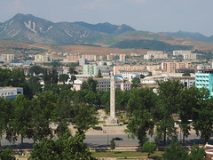 Sariwon, DPRK (Clay Gilliland) Tags: park travel holiday hotel scenery asia tour north korea falls northkorea dprk sariwon northkoreatour youngpioneertours dprktour