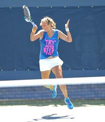 Victoria Azarenka (AshMarshall) Tags: usa ny queens tennis victoriaazarenka 2014usopentennischampionships