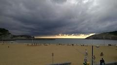 WP_20140803_19_40_34_Pro (asier kareaga) Tags: storm beach weather country basque gorliz euskadi