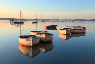 Mirror finish - Waldringfield, Suffolk