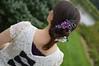 Lilac model 04 (Bright Wish Kanzashi) Tags: flower handmade silk lilac clasic tsumami kanzashi hairornament lilachairwreath