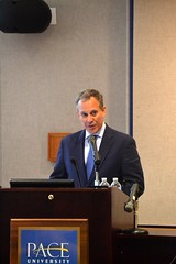 Climate Change Speech at Pace (nyagschneiderman) Tags: ny weather eric action sandy extreme ag change pace law irene storms climate rainfall hurricanes nys nyag schneiderman climatology