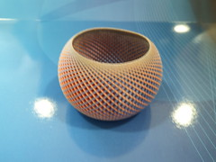 Full Color Plastic Villarceau Torus (fdecomite) Tags: 3d printing math povray shapeways