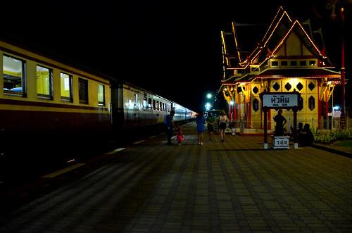 Night-time At Hua Hin Station