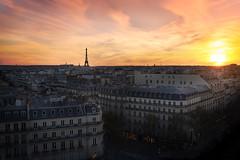 Paris (Cha-D Photographie) Tags: sunset paris eiffeltower toureiffel