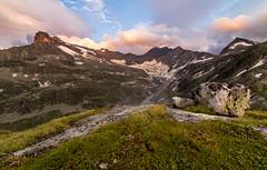 Sunset I (Alex Schubert) Tags: sunset mountains alps canon austria österreich skiing sommer hütte berge alpen 2014 pinzgau uttendorf rudolfshutte weisssee rudolfshütte 60d weissee gletscherwelt