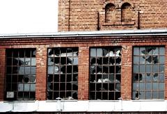 (Gruszka!) Tags: city windows urban building window industrial decay urbex