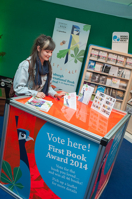 Casting a vote in our First Book Award