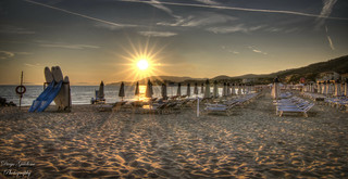 Sunset HDR Castiglione della Pescaia (Toscana)