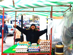 Autant en emporte le vent! Gone with the wind! (dominiquita52) Tags: wind market yorkshire lancashire eggs march oeufs wutheringheights nikond60 hautsdehurlevent