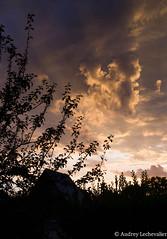 Ciel normand. (AudreyLechevalier) Tags: pentax ciel normandie soir k30