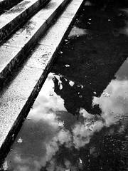 Dark Knight II (Saritius) Tags: shadow bw storm water rain gua chuva sombra knight sw bp schatten regen koblenz ritter cavaleiro