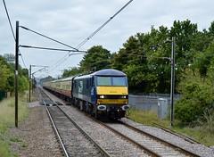 90034_Welwyn_1N50_UKR_270914_5 (DS 90008) Tags: electric durham north tracks mk2 locomotive kingscross charter ukr welwyn rollingstock 90034 ecml class90 mk1 chartertrain 1n50