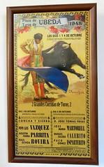 Ubeda Exposición Taurina cartel anunciador de la corrida en Ubeda 1 (Rafael Gomez - http://micamara.es) Tags: ubeda exposición taurina cartel anunciador de la corrida en jaen carteles corridas toros exposicion pintura antiguo cuadro toreros torero
