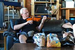 Plane trip (munn1) Tags: nikon bluegrass guitar britishcolumbia fiddle nik cessna 247028 pittmeadows nikor d4s 20150614charlieplanejam