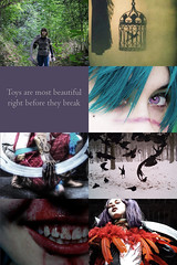 Tira Aesthetic Collage - Soul Calibur (DrosselTira) Tags: tira sc soulcalibur soul calibur v iv iii 3 4 5 bird passage artwork alternate alternative alter version outfit costume namco bandai aesthetic collage feather raven crow wing wings killer cage eiserne drossel iron thrush cosplay cosplayer sciii sciv scv sc3 sc4 sc5