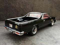 79 Chevy ElCamino 'black knight' . (Revell) (Modelmadness) Tags: elcamino chevy pick up revell