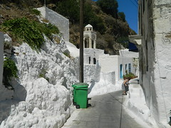 white (Bichoes) Tags: nisyros dodekanse aegean mandraki spiliani monastery knights castle greece
